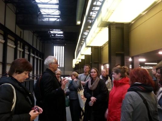 Susitikimas Tate galerijoje
